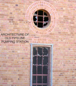 Amazing Architecture of the old Pump Shed. Goldfields.